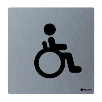 piktogram mozgáskorlátozott mosdó helyiségekhez