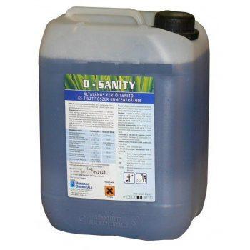 D-Sanity fertőtlenítő tisztítószer 5L