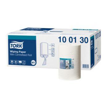 Tork egyrétegű tekercses mini belsőmagos kéztörlőpapír, Tork 100130