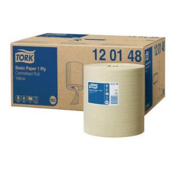 Tork egyrétegű tekercses maxi belsőmagos kéztörlőpapír, Tork 120148