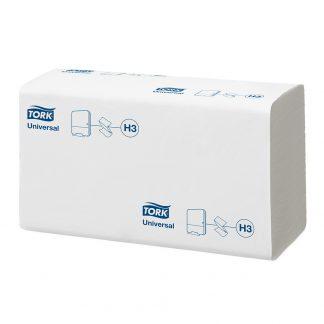 Tork egyrétegű fehér színű Z hajtogatott kéztörlőpapír, Tork 290158