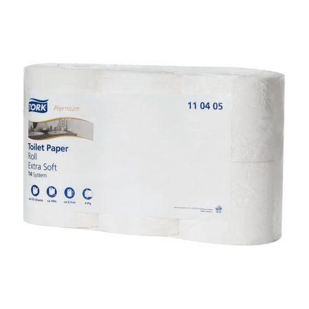Tork Premium négyrétegű kistekercses toalettpapír, Tork 110405