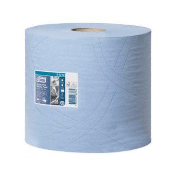 Tork Heavy-Duty kétrétegű kék színű ipari törlőpapír, Tork 130072