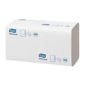 Tork Swanex egyrétegű fehér színű Z hajtogatott kéztörlőpapír, Tork 290152