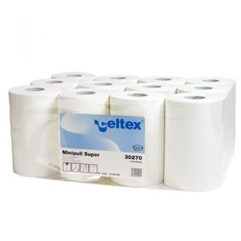 Celtex kétrétegű tekercses mini belsőmagos kéztörlőpapír, Celtex 30270