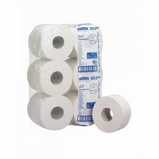 Kimberly Clark Scott Performance kétrétegű nagytekercses toalettpapír, KC-8512