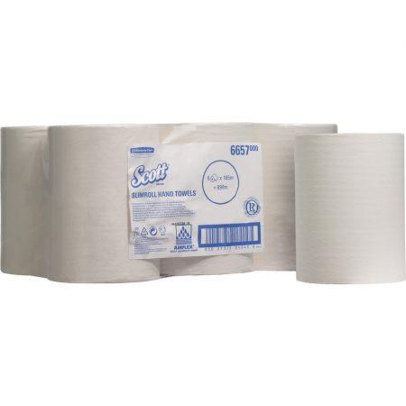 Kimberly Clark Professional - egyrétegű tekercses kéztörlőpapír, KC-6657