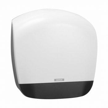 Toalettpapír adagoló fehér színben