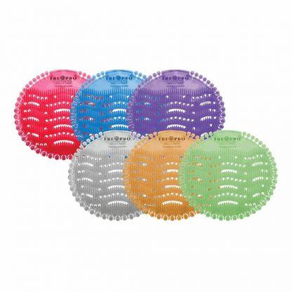 Kör alakú piszoár szűrő többféle színben