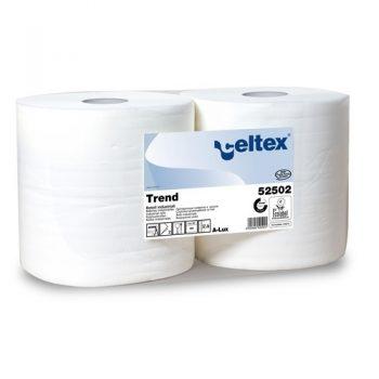 Celtex kétrétegű fehér színű ipari törlőpapír, Celtex 52502