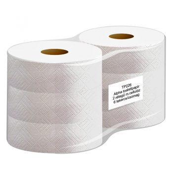 Kétrétegű nagytekercses toalettpapír ø 26cm