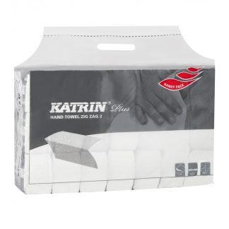 KATRIN Handy Plus kétrétegű Z hajtogatott kéztörlőpapír. Katrin 100645